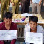 Điện Biên: Bắt quả tang hai đối tượng vận chuyển 120.000 viên ma túy tổng hợp