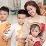 Ca sĩ Vy Oanh rạng ngời trong bộ sưu tập mới của NTK Phương Nguyễn