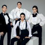 """""""Bà trùm Hoa hậu"""" Phạm Kim Dung """"đọ sắc"""" cùng ba nàng hậu đình đám trong bộ ảnh mới"""